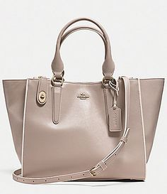 COACH CROSBY CARRYALL IN COLORBLOCK LEATHER #Dillards