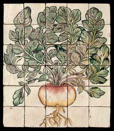 Dettaglio articolo 10629 - botanical tiles - stand Recuperando #recuperando - available on recuperando.com