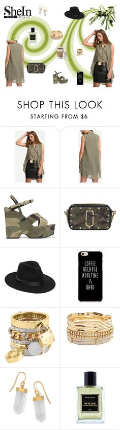 """Coffee Please!"" by browncoat4ever ❤ liked on Polyvore featuring Yves Saint Laurent, Marc Jacobs, Lack of Color, Henri Bendel, Charlotte Russe, BillyTheTree and Jardins D'Écrivains"