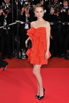 Natalie Portman on the Red Carpet in Cannes