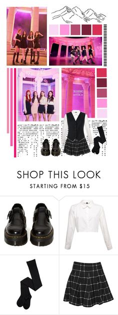 """""""BlackPink _ AS IF IT'S YOUR LAST"""" by jina-7 on Polyvore featuring Dr. Martens, Boohoo, Dolce&Gabbana, kpop and BlackPink"""