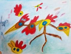 #sketchbook rambling. #cabintime #art #chickens