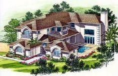 Luxury Style Home Design 37-170