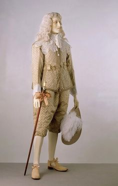 Doublet and breeches; England, 1630-1640. | Victoria and Albert Museum