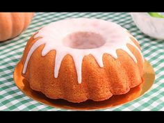 Torta esponjosa de auyama o calabaza/ Dulce Dara - YouTube