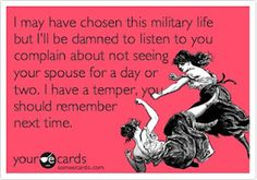 I'm not married or a military wife, but I have a high risk of being deployed while in the Air Force as security forces so I'd say it applies to me too. At least it will later on...