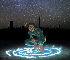 FEATURE: South African Superheroes - 'Kwezi', the new comic book from artist Loyiso Mkize – AFROPUNK