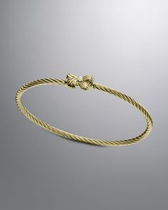 Cable Collectibles® Bracelet, Ribbon by David Yurman at Neiman Marcus.