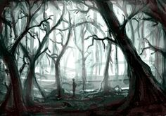 Slit Mouth/Forest Backdrop