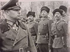 "General Helmuth von Pannwitz, leadercofcthe Cossack during ww2. He volunteraly went to Moscow to be executed, refusing to leave his Cossack comrads face death without him. He is to this day known by the Cossack as... ""The Last Knight of Europe"""