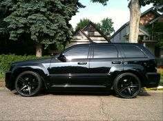 "2014 Jeep SRT8 Rims | 22"" Jeep Grand Cherokee SRT8 wheels in gloss black w/ tires"