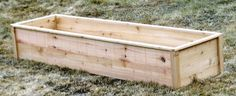 $10 Cedar Raised Garden Beds by Ana | The Adventures of Thrive Farm