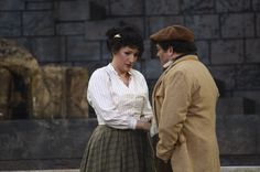 Il Tabarro. Giorgetta (Chiara Angella) and Luigi (Francesco Anile).