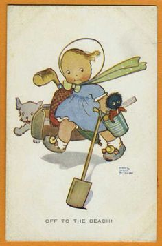 Mabel Lucie ATTWELL vintage card