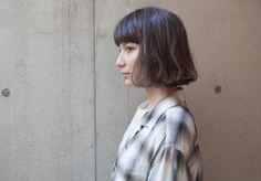 instagram/ayami__takahashi 切りっぱなしボブ 外国人風カラー