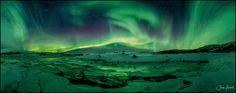 Supergreen ! by Jan Geerk on 500px.  Northern Norway.