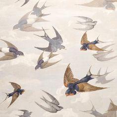 Designers Guild Wallcoverings — John Derian Company Inc Book Wallpaper, Wallpaper Online, Fabric Wallpaper, Wallpaper Roll, Closet Wallpaper, Designers Guild Wallpaper, Designer Wallpaper, Eye For Detail, Blue Wallpapers