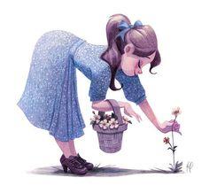 Meu Conto de Fada: Ilustrações de Genevieve Godbout