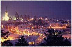 home town. Oh The Places You'll Go, Places To Visit, Winter's Tale, Small Towns, San Francisco Skyline, Lighthouse, Norway, Sweden, Paris Skyline