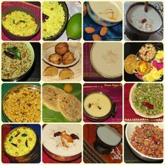 Shravana Masam or Shravan 2016 - Some Festival Dates and Recipes