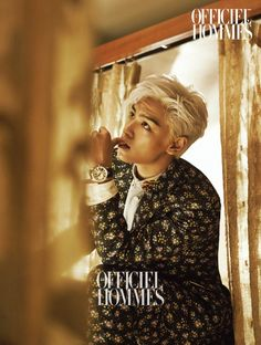 BIGBANG T.O.P Aims to Get You Wet for L'Officiel... | KG