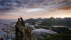 Våghalser som hopper mellom toppene på Svolværgeita imponerer de fleste. Men…