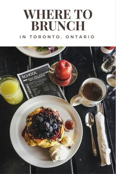 Where to find the best brunch spots in Toronto, Ontario, Canada