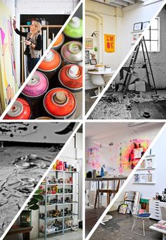 peek inside an artist's studio