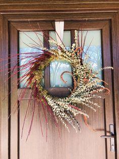 Hand built Grapevine wreath with eucalyptus, dogwood & seka willow Grapevine Wreath, Grape Vines, Wreaths, Doors, Spring, Door Wreaths, Vineyard Vines, Deco Mesh Wreaths, Floral Arrangements