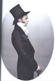 """The Look: Victorian - """"The Ultimate Dandies,"""" Numero Homme. Shot by Karl Lagerfeld Victorian Men, Victorian Steampunk, Victorian Fashion, Vintage Fashion, Victorian Gentleman, Edwardian Style, Victorian Costume, Victorian Dresses, Modern Victorian"""