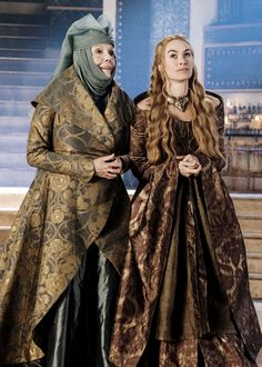 Olenna Tyrell and Cersei Lannister ~ Game of Thrones