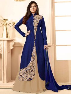Check out what I found on the LimeRoad Shopping App! You'll love the Blue Lehanga Suit. See it here http://www.limeroad.com/products/11720295?utm_source=9836239fd7&utm_medium=android