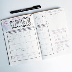 """206 Likes, 1 Comments - Roz • Bullet Journal (@rozmakesplans) on Instagram: """"Setting up September while drinking a ton of coffee and getting shaky lines.. then not realizing I…"""""""
