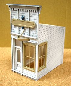S-Scale - Dioramas - Model Railroad Forums - Freerails Tiny House, Westerns, Trains For Sale, Garden Railroad, Model Training, Train Table, Model Train Layouts, Miniature Houses, Model Building