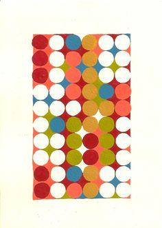 dots of colors art