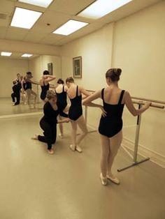 Academy of Ballet & Dance Arts Studio with Alvas Free Standing (portable) Ballet Barres #alvasbfm #academyofballetanddancearts #balletbarres #dancebarres