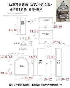 Выкройка и пошив рюкзачка (Diy) / Сумки, клатчи, чемоданы / ВТОРАЯ УЛИЦА