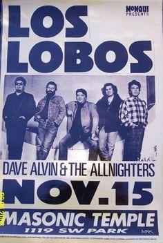 Los Lobos 11-15-87