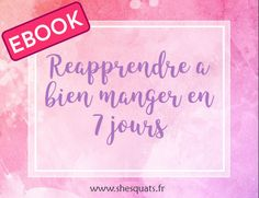 ebook reequilibrage alimentaire
