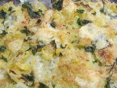 Cavolo verza gratinato al forno - buono - fatta una vetsione light con philadelphia balance invece del formaggio stagionato