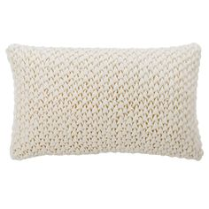 Bring a subtle, finishing touch to your decor with the Abella Pillow from Safavieh. Made from cotton, the pillow face features a striking ruched design. cream tones blend perfectly with any room setting, complementing the sofa or bed. Knitted Throws, Cotton Throws, Cotton Pillow, Cream Bedding, Neutral Color Scheme, Pillow Reviews, Best Pillow, Pillow Sale, Cushion Pads