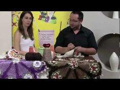 tapete peludo parte 2 Tutorial Crochet, Crochet Videos, Flower Making, Knitting, Crafting Recipes, Diy And Crafts, Knit Basket, Crochet Sunflower, Rugs