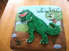 Someone wants a t-rex cake                                                                                                                                                     More
