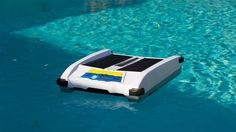 Solar Breeze Robotic Solar Pool Cleaner - http://DesireThis.com/2614 - The Solar-Breeze from Solar Pool Technologies is a whole new concept in pool cleaning that is helping pool owners save time, energy and money. The Solar-Breeze automatic pool skimmer is a smart robot, powered by the sun. Without you lifting a finger, this pool skimmer removes 90-95% of all debris, including leaves, pollen, dust and even suntan oils from the surface of your pool before it sinks to the bottom.