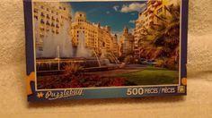 puzzlebug 500 piece main city square Valencia, Spain #Puzzlebug