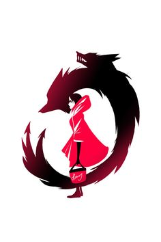 It's only just occurring to me know that she IS the wolf. The whole silver eyes? Dragon Rouge, Red Like Roses, Rwby Comic, Good To See You, Anime Tattoos, Amazing Drawings, Rose Wallpaper, Ruby Rose, Red Eyes