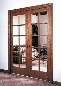 This type of photo is seriously a noteworthy design philosophy. Wooden Glass Door, Wooden Sliding Doors, Glass Barn Doors, Sliding Glass Door, Arched Doors, Windows And Doors, Main Entrance Door Design, Oak Interior Doors, Room Partition Designs