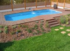 Affordable Pool Landscaping Ideas modern garden pond ideas | pools & backyards | pinterest | garden
