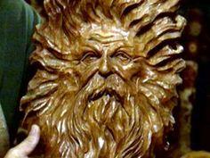 Carved Tree Spirit