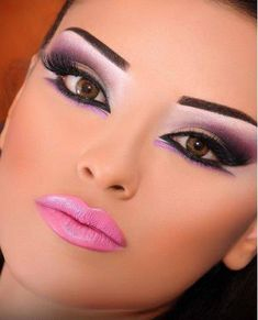 Pink Arabic Eye Look :: Makeup done right.